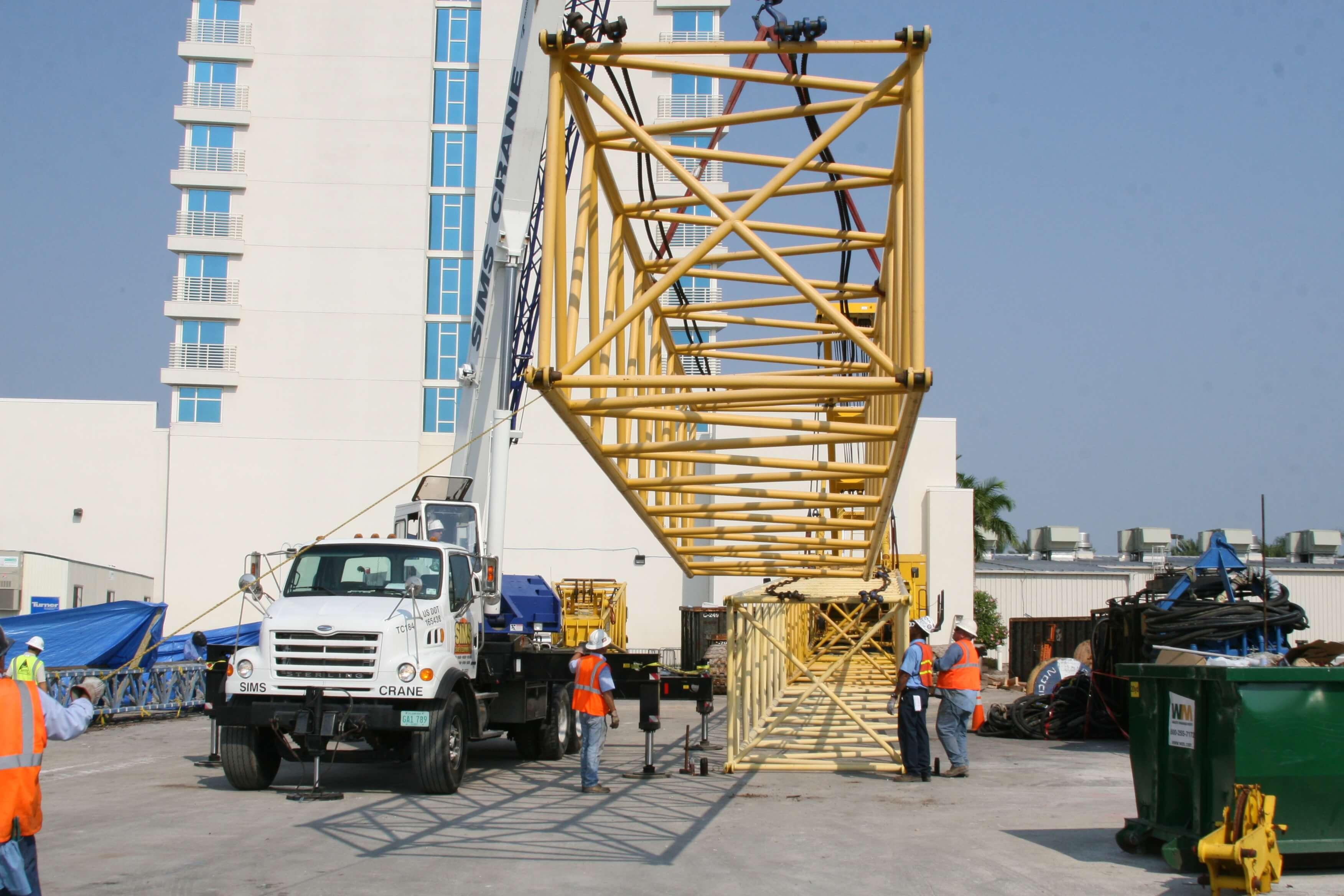 Mobile Crane Rigging : Lattice boom nccco operatornetwork